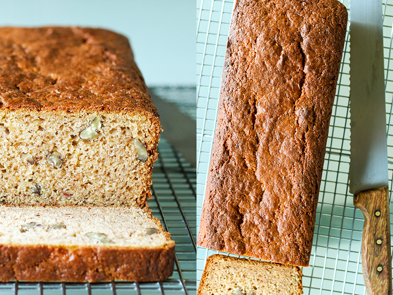 Persimmon and Pecan Bread - Hachiya persimmon pulp is the star ingredient in this irresistibly fragrant fruit and nut bread.