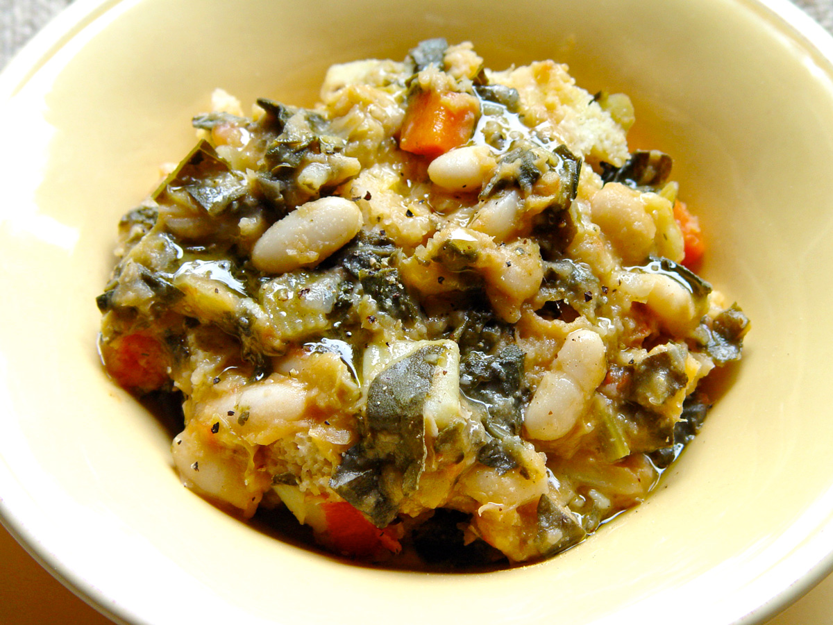 ribollita close up